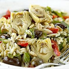 Risoni Salad with Italian Flavours Recipe on Yummly