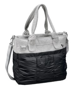Take a look at this Black Steadytone Tote by PUMA on #zulily today!