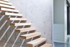 Floating Stairs #stairs Pinned by www.modlar.com