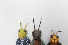 Meet the insects.