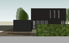 Het dak wordt ten volle energie-vriendelijk benut door middel van een groen dak 1102WREE stam.be