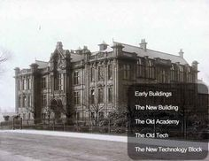 Kilmarnock Academy history - buildings index New Builds, New Pictures, Scotland, Buildings, Past, Old Things, Louvre, History, Travel