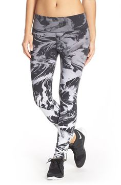 Nike 'Legendary' Print Dri-FIT Tights available at #Nordstrom