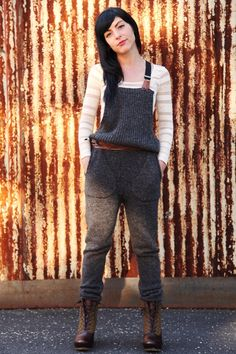 Office Style: Girls from our home office trying our favorite fall trend, Sweater Dressing! #freepeople #officestyle