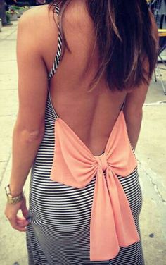 love this! Can't wait till I get my back like this so I can wear low back tops/dresses