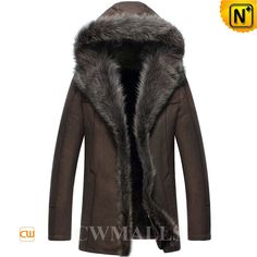 CWMALLS Sheepskin Fur Parka Coat with Hood CW855286 Smooth and durability hooded sheepskin coat with fur trim made of deliciously warm and supple Australian sheepskin shearling. Either way you wear it, generous fit raccoon fur trims the hood and front, button front, with slip pockets on either side. www.cwmalls.com PayPal Available (Price: $1615.89) Email:sales@cwmalls.com