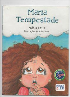 """CAPA DO LIVRO """"MARIA TEMPESTADE"""" PELA ED. CONSTRUIR"""