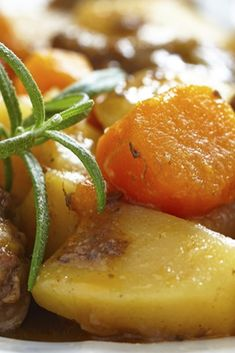 Add root vegetables to vary the recipe...