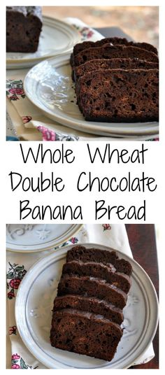 100% whole wheat, no butter, no processed sugar Double Chocolate Banana Bread. Yes you read it right. Click to get the recipe which is a treasure for life.