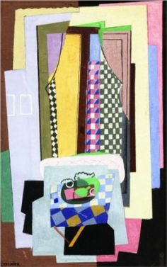 Still Life in Front of a Window by Georges Valmier