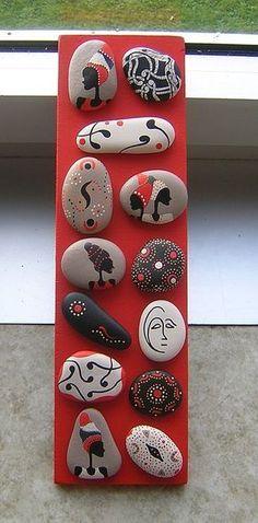 Pedras pintafad mandalas