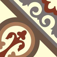 ODYSSEAS 322 Handmade Tiles, Cement