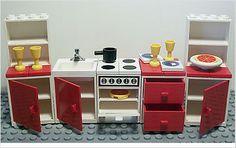 Lego Ultra RARE Kitchen Shelf Cabinet Stove etc 1978 Vintage House Brick Lot   eBay Lego Projects, Projects To Try, Lego Kitchen, Kitchen Cabinet Shelves, Lego Furniture, Lego Boards, Block Art, Cool Lego Creations, Lego House
