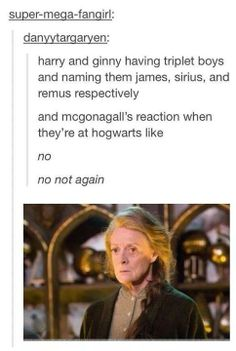 So basically in the epilogue of DH, Remus and Sirius were so excited for the new term at Hogwarts, they ran off without saying goodbye properly (James at least interacted a little with Harry and Ginny) Harry And Ginny, Harry Potter Love, Harry Potter Fandom, Harry Potter Universal, Harry Potter Memes, Harry Potter Musical, Draco, All The Bright Places, Will Herondale