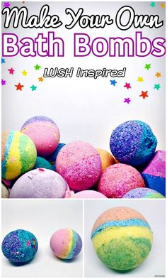 How to make easy DIY bath bombs at home? We have brought these 101 easy DIY Bath Bombs Recipe Tutorials that are all different, unique and amazing and will really turn taking bath into a big fun! Diy And Crafts Sewing, Crafts For Girls, Crafts To Sell, Diy Crafts, Beauty Blogs, Bombe Recipe, Lush Bath Bombs, Bath Bomb Recipes, Craft Wedding