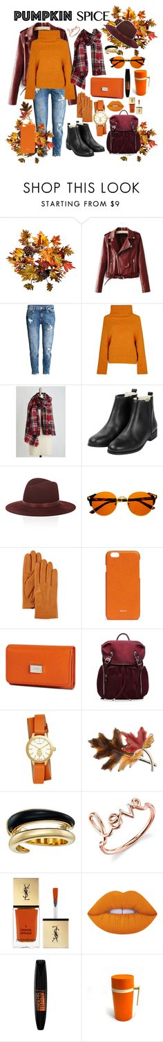 """""""Orange is the new black"""" by asnaate ❤ liked on Polyvore featuring Improvements, Toga, Janessa Leone, UGG, Valextra, Tod's, M Z Wallace, Tory Burch, Anne Klein and Michael Kors"""