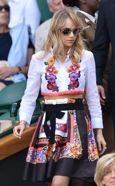 Suki Waterhouse in Alberta Ferretti. See who else made our 10 Best Dressed list this week.