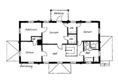House Floor Plans, Villa, Diagram, Flooring, How To Plan, Inspiration, Floor Layout, Home Plants, Biblical Inspiration