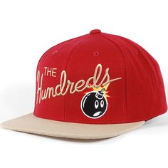 The Hundreds Nation Snapback Hat (Red Clay) $27.95