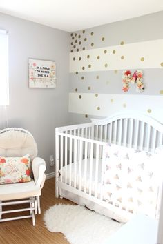 Floral & Gold Nursery