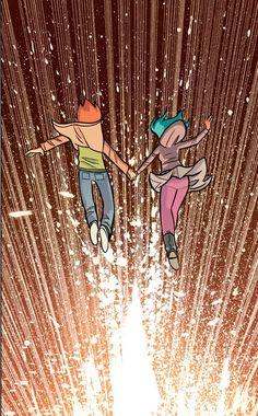 Scott Pilgrim's Finest Hour (Color Edition) Writer and Artist: Bryan Lee O'Malley Scott Pilgrim Comic, Bryan Lee O Malley, Arrow Tv Shows, Ramona Flowers, Vs The World, Cultura Pop, Cool Wallpaper, Geek Stuff, Fan Art