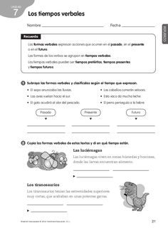 Refuerzo y ampliacion lengua 4º Teachers Corner, School Worksheets, Spanish Classroom, Spanish Lessons, Sixth Grade, Teaching Resources, Grammar Book, Homeschool, Language