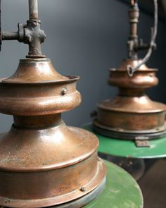 Pair of Gas Lamps, Antique Lighting, Drew Pritchard