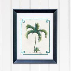 Chinoiserie Palm Tree Print