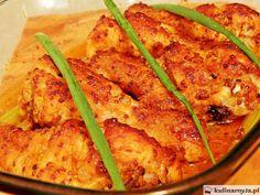 Pałki z kurczaka pieczone w miodzie i musztardzie