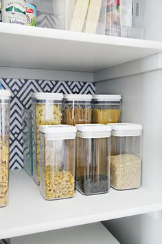 56 My Favorite Tips for Organizing a Deep Pantry – pantry redo Deep Pantry Organization, Kitchen Cabinet Organization, Pantry Storage, Organization Ideas, Pantry Ideas, Kitchen Storage, Food Storage, Storage Ideas, Food Pantry Organizing