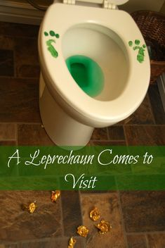 We Lure a Leprechaun and He Pees in the Toilet - Meaningfulmama.com