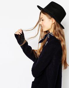 ASOS Felt Panama Hat With Plait Braid Trim NEW IMPROVED FIT