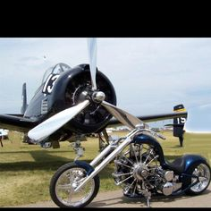 Airplane engine Bike