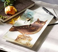 Add an artistic touch to a desktop, coffee table or dresser. Our decoupage tray is a creative way to corral small items like keys or jewelry.