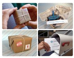 World's Tiniest Package - Mail it anywhere in the world! http://www.leafcutterdesigns.com/order/orders/package