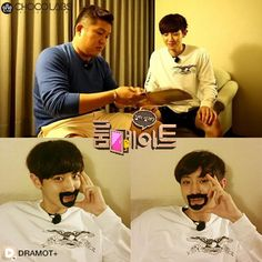 Overseas trip of Roommate cast continues: watch Se Ho helping Chan Yeol disguise to break out of their hotel!  Roommate Ep 15 on DRAMOT+  #roommate #chanyeol #exo #joseho #seokangjun #parkminwoo #leedongwook