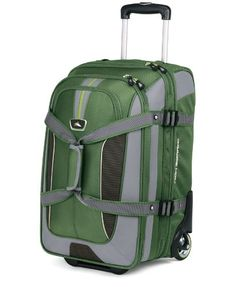 High Sierra AT656 Carry On Expandable Wheeled Duffel with Backpack Straps