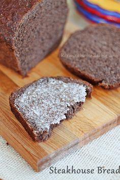 Steakhouse Homemade Bread Recipe — Roxana's Home Baking Quick Bread, How To Make Bread, Steakhouse Bread Recipe, Rye Bread, Home Baking, Artisan Bread, Bread Recipes, Copycat Recipes, Scone Recipes