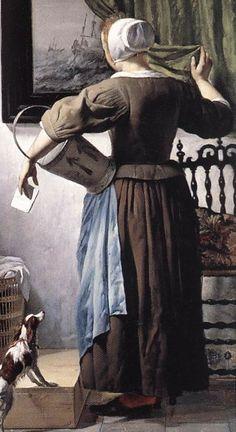 1662-65_YOUNG-WOMAN-READING_METSU.jpg (452×828)