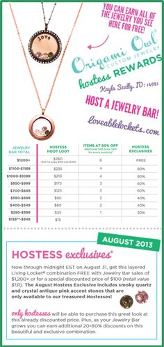 Origami Owl August Hostess Exclusive - Chocolate and Rose Gold!  Earn it free by hosting a party with me!