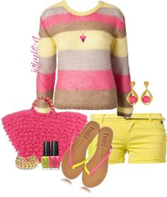 """Summer Brights"" by jaimie-a on Polyvore"