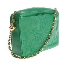 vintage seafoam green Chanel