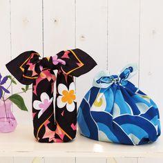 京都掛札 風呂敷 青海波(青色) - 内祝い・出産内祝いギフトは『たまひよの内祝』
