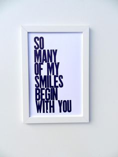 Smiles begin with you