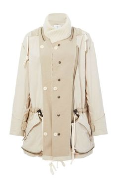 This **Tre by Natalie Ratabesi** The Haven Jacket features a long sleeve waist coat with a high neckline and drawstring waist. Elle Magazine, Drawstring Waist, Raincoat, Jackets, Shopping, Clothes, Collection, Women, Fashion