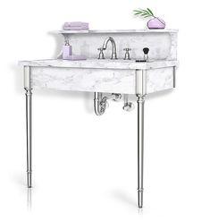 Providence | Palmer Industries vanity metal sink base