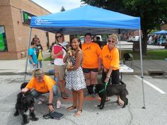The The Humane Society of Port Jervis/Deerpark was on hand at the 16th Annual Arts Walk with our furry friends looking for great homes!
