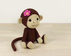 Monkey girl amigurumi pattern by Kristi Tullus