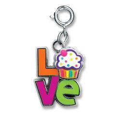 Shop CHARM IT! - Love Cupcake , $6.00 (http://www.shopcharm-it.com/charms/love-cupcake/)