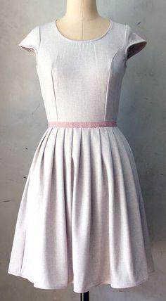 Lilac Bouquet Dress